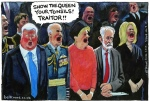 Jeremy Corbyn, can sing, won't sing